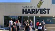 Winnipeg Harvest and Rogers Step Up to the Plate to help more than 18,000 Manitobans