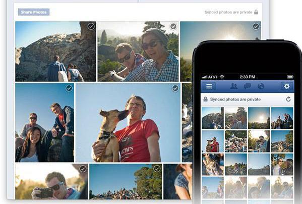 Facebook Photo Sync boots smartphone snaps to a private album as you shoot
