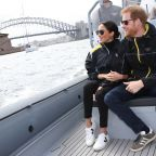 Pregnant Meghan Markle Rocks Sneakers at Sailing Event With Prince Harry