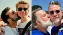 Couple recreates photo taken at their 1st pride march 24 years ago