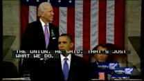 Hero officer attends State of the Union address