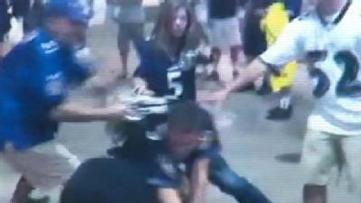 Video Shows Ravens Game Brawls