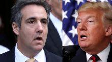 """Trump describe como """"una simple transacción privada"""" un pago de sobornos confirmado por su antiguo abogado"""
