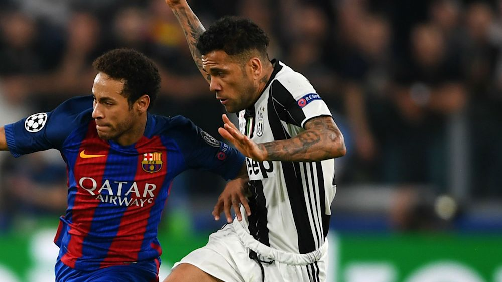 Alves: Barcelona are world's best, but Juventus are favourites