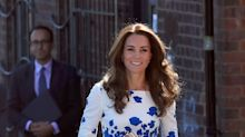 Duchess Of Cambridge Reaffirms Her Love Of The British High Street In L.K. Bennett Dress