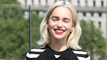 Emilia Clarke Has Set Her Sights on a Fairly Major Game of Thrones Souvenir