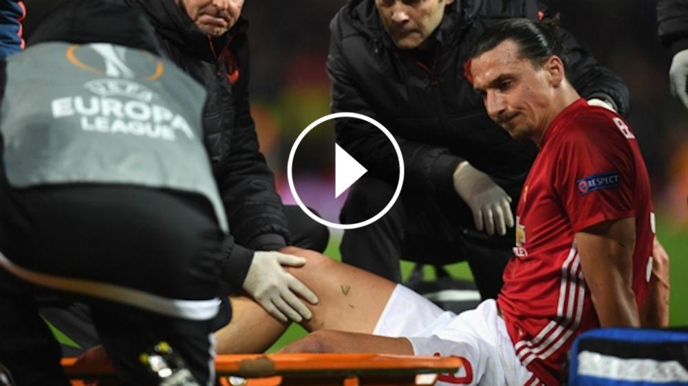 VÍDEO: Mourinho, preocupado por la lesión de Ibrahimovic
