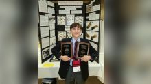 7th grader wins awards for 'remarkable' science fair project on cancer research
