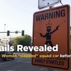 """Warrant: Woman """"slapped"""" squad car before police shooting"""