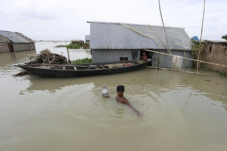 Torrential rains during the monsoon season between June and September trigger floods, landslides and lightning strikes across South Asia, with hundreds dying every year