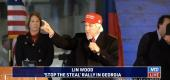 "Personal injury attorney and Trump ally L. Lin Wood speaks at a ""Stop the Steal"" rally in Atlanta on Wednesday. (NTD via YouTube)"