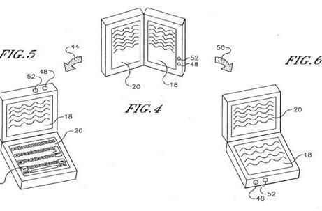 Sony patent application points to dual-screen, dual-use tablet