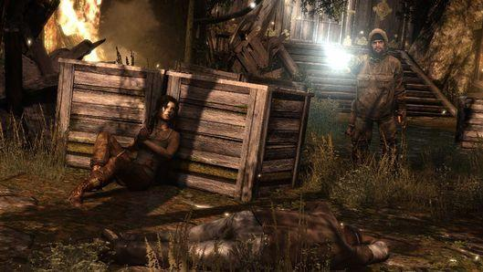 Surviving and learning to fight back as Lara Croft in Tomb Raider