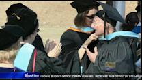 90-year-old receives master's degree from CSUSM