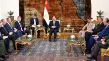 Egypt and Russia discuss fight against 'terror'