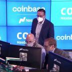 Coinbase soars in milestone crypto market debut