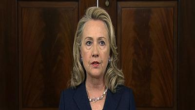 Clinton: Libya attack should shock the world