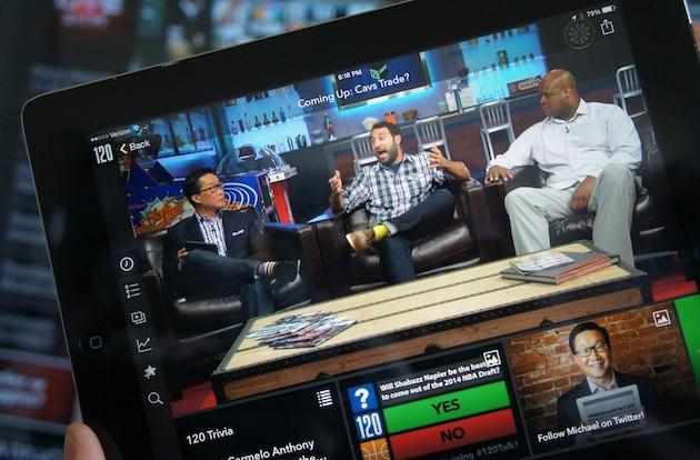 120 Sports launches its free internet sports news network today