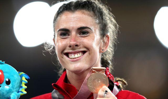 Olivia Breen: Paralympic world champion 'speechless' after being told her sprint briefs 'too short and inappropriate'