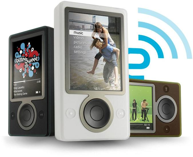 Engadget's relaunch giveaways: let's start with a Zune
