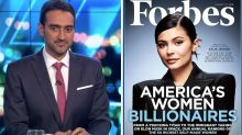 Waleed Aly isn't impressed with Kylie Jenner's Forbes cover