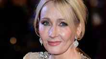 J K Rowling shimmers in sequins at Fantastic Beasts premiere