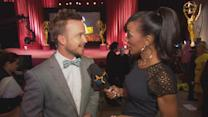 Aaron Paul Reacts To 'Breaking Bad's' 13 Emmy Nominations; Discusses Getting A 'Breaking Bad' Tattoo