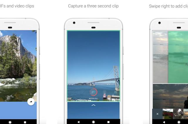 Google brings its fancy Motion Stills GIF-making app to Android