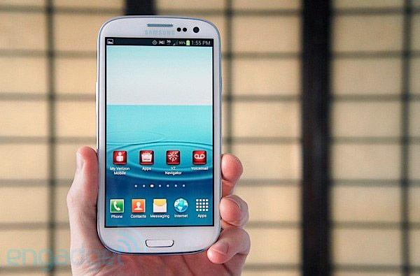 Verizon pushing Android 4.1 update to Samsung Galaxy S III tomorrow