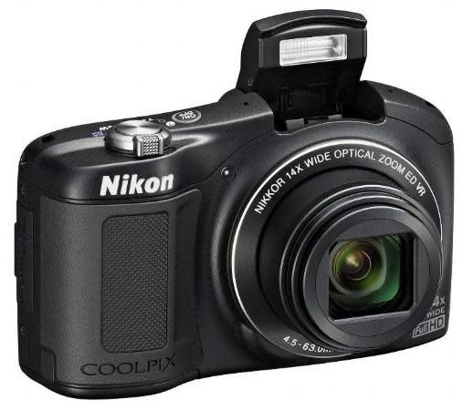 Nikon's Coolpix L620 14x superzoom ships next month for $250