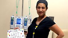 Two women who survived rare cancer while pregnant meet in real life