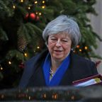 Britain will set out results of EU talks in New Year - May