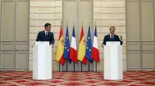 Migrants: Macron pour des sanctions contre des Etats européens