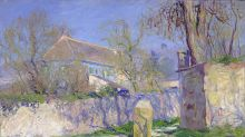 Duerme en la casa azul de Claude Monet