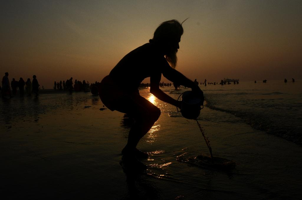 The Ganges is India's longest and holiest river, but the waters in which pilgrims ritualistically bathe and scatter the ashes of their dead is heavily polluted with untreated sewage and industrial waste