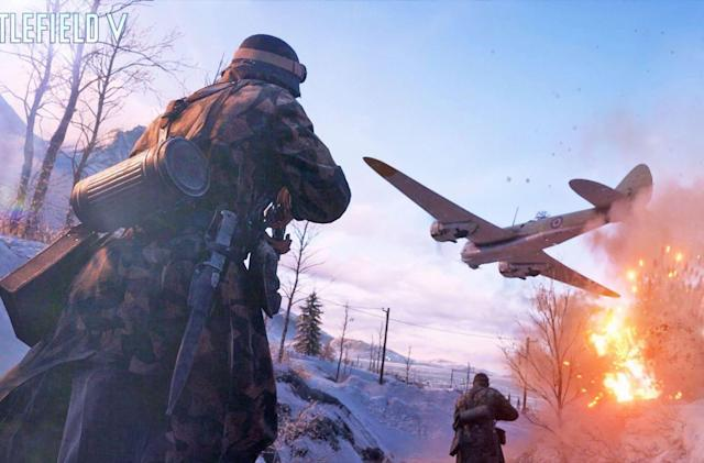 'Battlefield V' didn't sell as well as EA hoped it would