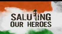 Saluting our heroes -- 1