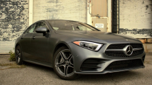 Testing a $100,000 2019 Mercedes-Benz CLS 450, a luxury coupe with its own perfume system