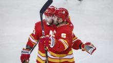 Gaudreau has goal, assist as Flames beat Canucks 5-2