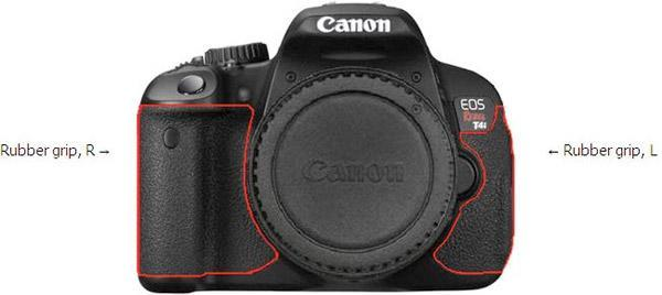 Canon recalls 68,200 EOS Rebel T4i DSLRs, says rubber grips can lead to skin rash