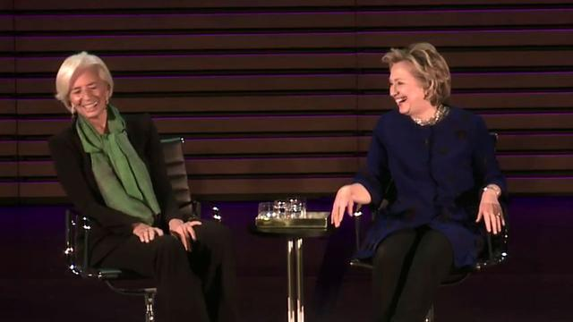 Clinton and Lagarde on their future as world leaders