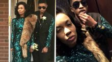 This teen took his mom to prom because she missed hers — and the photos are so glam