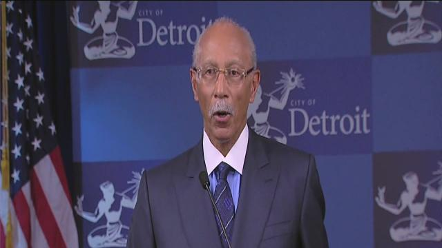 Mayor Dave Bing starts re-election process