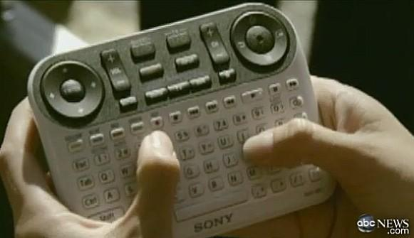 Sony's Google TV controller outed on ABC's Nightline (video)