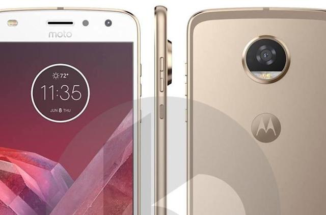 The Moto Z2 Play looks very familiar