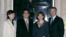 Shinzo Abe's visits to the UK