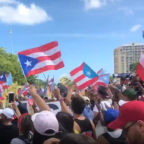 Protesters Shut Down San Juan Highway to Call for Resignation of Puerto Rico Governor