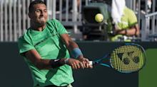 Tennis: Nick Kyrgios reprimands ball boy and then makes up for it with affectionate exchange after win