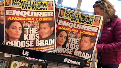 National Enquirer admits to holding stories for Trump