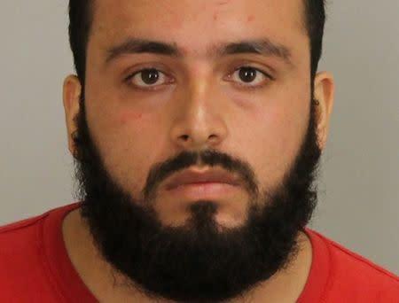 Ahmad Khan Rahimi, 28, is shown in Union County, New Jersey, U.S. Prosecutor's Office photo released on September 19, 2016. Courtesy Union County Prosecutor's Office/Handout via REUTERS